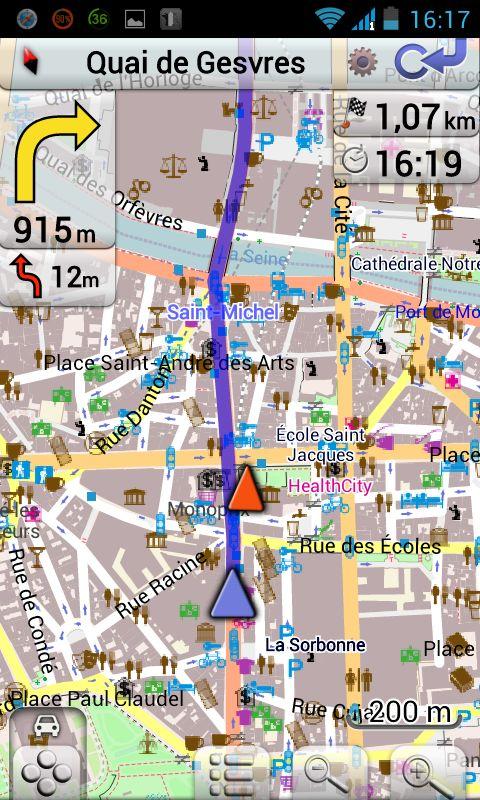 Harta Frantei Pentru Android